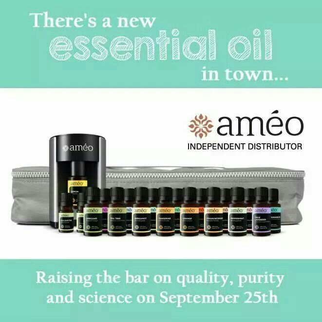 Ameo essential oils. Ask me for more info.