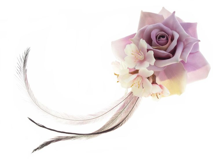 Fascinator by Loveflowers. Find your perfect wedding flowers at http://www.loveflowers.com.au/