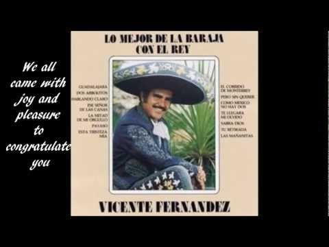 LAS MAÑANITAS - VICENTE FERNANDEZ - YouTube