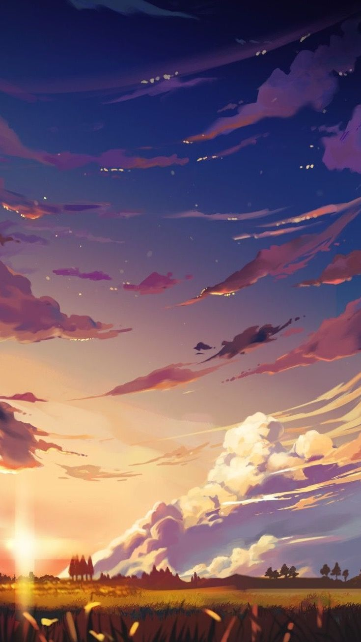 Pin By Wallpapers Phone Pad Hd On 9 16 Phone Scenery Wallpaper Anime Scenery Fantasy Landscape 16 anime wallpaper for mobile