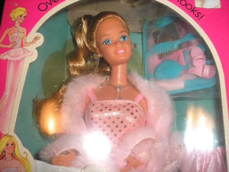 Vintage 1981 Mattel, Pink & Pretty Barbie Doll #3554  #DollswithClothingAccessories