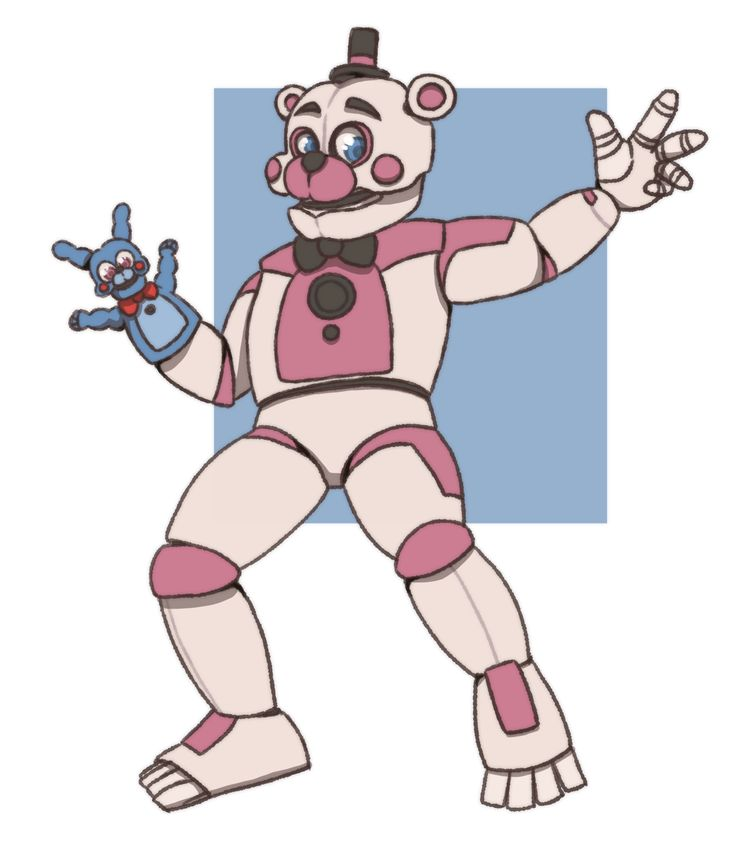 "here-for-revange: ""Cute Funtime Freddy and Bon Bon """