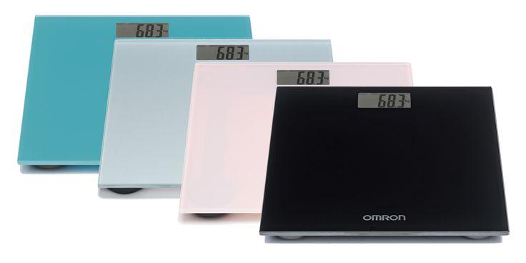 OMRON HN-289 digitális személymérleg (4 színben) - Rendkívüli pontosságának köszönhetően még a kisebb testsúlyváltozás is nyomon követhető. A nagy LCD kijelzőnek köszönhetően a digitális számok könnyen elolvashatóak.