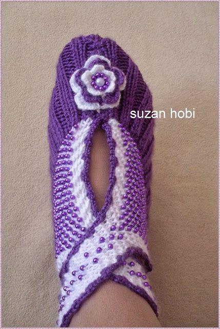 Мастер-класс вязаной обуви от suzan hobi. Обсуждение на LiveInternet - Российский Сервис Онлайн-Дневников