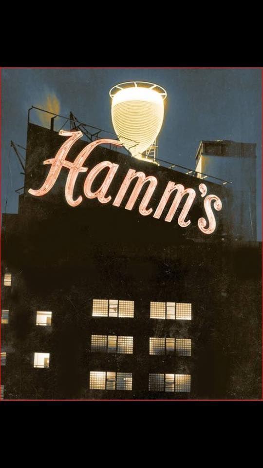 The old Hamm's Beer sign, San Francisco, CA