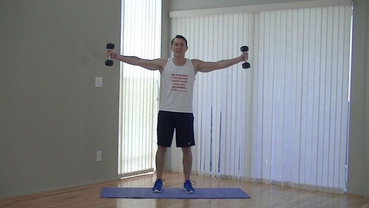 Coach Kozak will demolish your shoulders with this 10 minute deltoid workout.