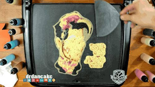 Share this Prince Pancake Art Animated GIF with everyone. Gif4Share is best source of Funny GIFs, Cats GIFs, Reactions GIFs to Share on social networks and chat.
