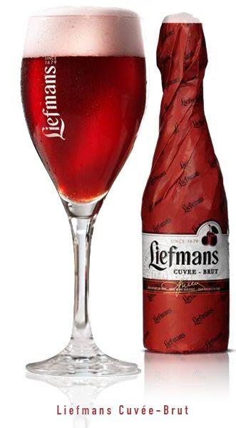 Cerveja Liefmans Cuvée-Brut, estilo Lambic - Fruit, produzida por Brouwerij Liefmans, Bélgica. 6% ABV de álcool.