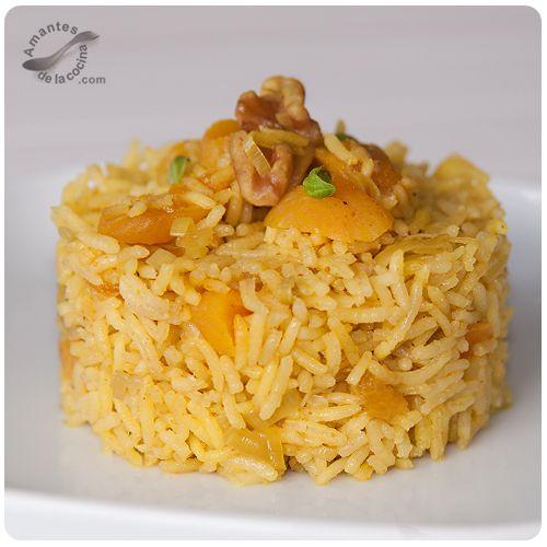 Arroz con curry arroz pinterest salsa tes and recetas - Arroz con verduras light ...