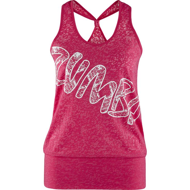 Zumba Shop Canada | tri-me loose bubble tank - back to the fuchsia