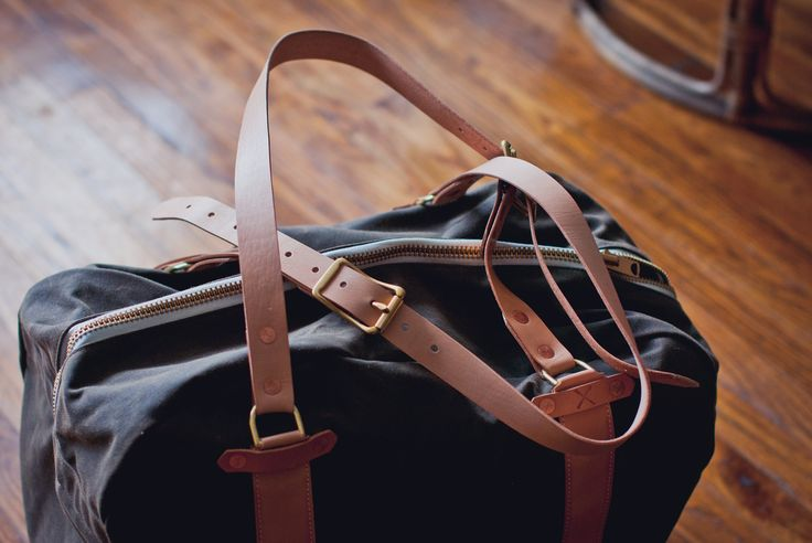 Waxed Weekender Bag from Draught Dry Goods.Dry Good, Weekend Bags, Wax Weekend, Travel Bags, Gym Bags, Overnight Bags, Men Apparel, Bags Hag, Draught Dry