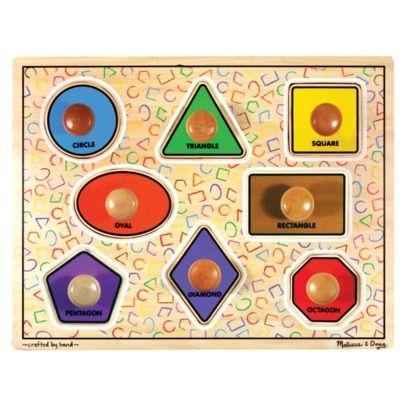 Melissa & Doug® Wooden Large Shapes Jumbo Puzzle