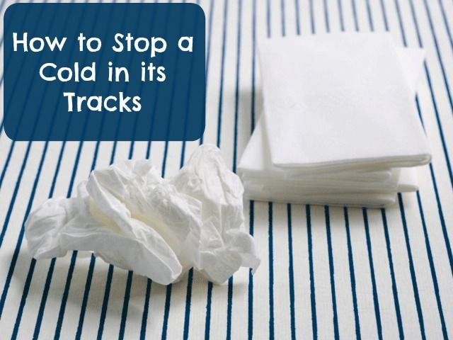 Stop a cold before it even really starts with these tricks!