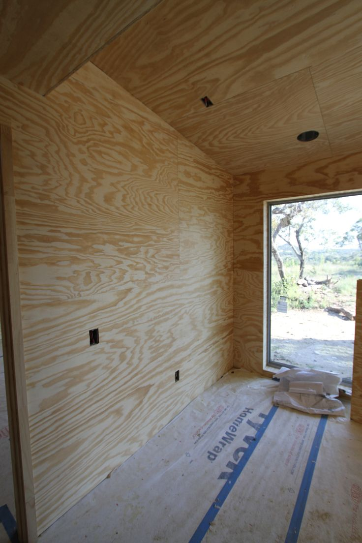 Best 25 plywood walls ideas on pinterest fireplace - Plywood sheathing for exterior walls ...
