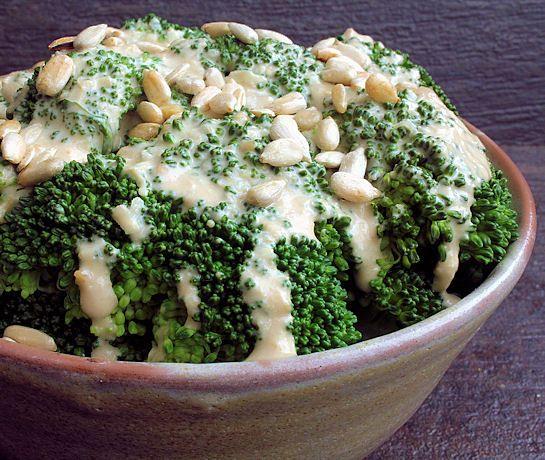 Aderezo para ensalada de semilla de girasol y jengibre hecho en casa.
