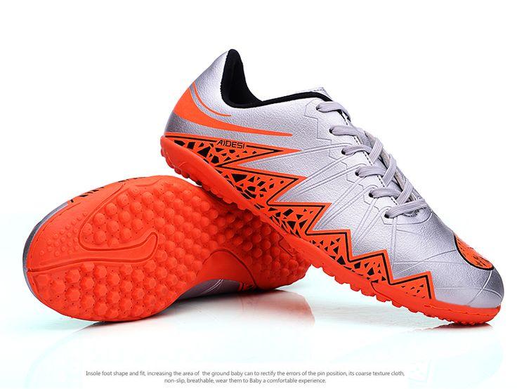 2016 Indoor Soccer Shoes Mens Boys Football Boots Soccer Tf Shoes Zapatillas De Futbol Boy Soccer Boots For Sale  Soccer Indoor #Affiliate