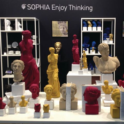 One day left for the Maison & Objet Paris Show!! SOPHIA is ready! Stay Tuned at Hall 6 Stand N6! #sophiaenjoythinking #maisonobjetparis #design #homedeco Learn more: http://bit.ly/maisonsobjetophiasep2016