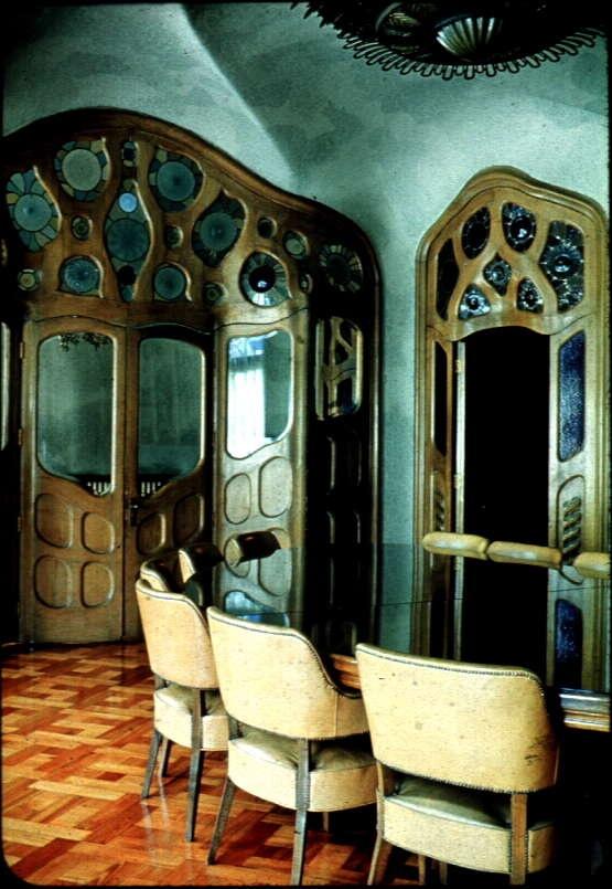 Casa Milá interior