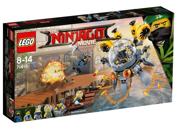 The LEGO Ninjago Movie : premiers visuels officiels pour le set 70610: Le contenu de 10 des 11 sets basés sur le film The LEGO… #LEGO