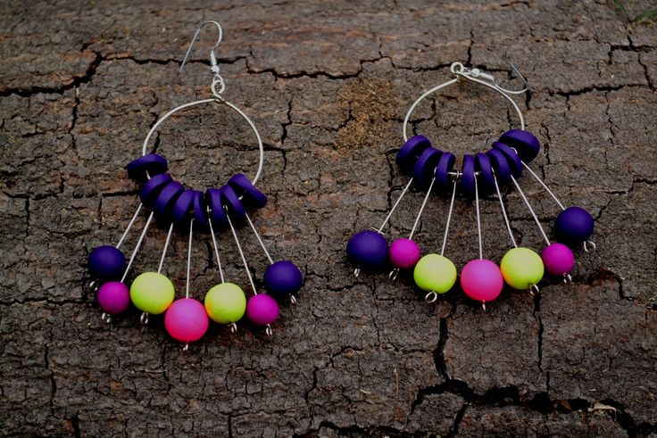 earring polymer clay.