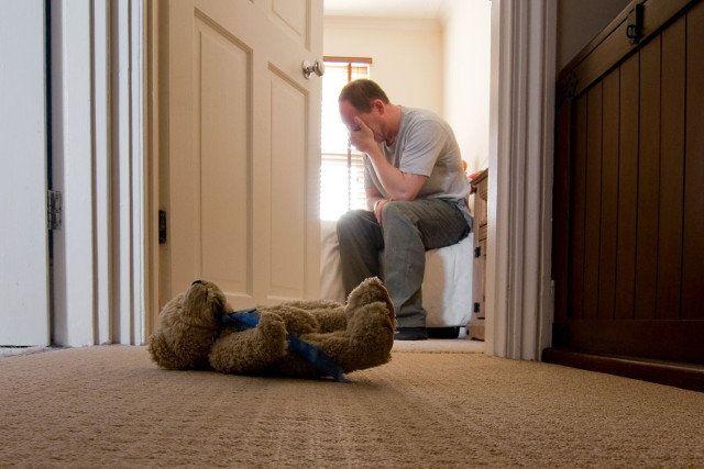 Depresja poporodowa u mężczyzn