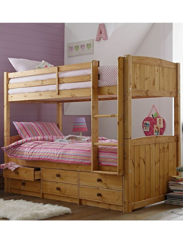 17 Best Ideas About Pine Bunk Beds On Pinterest Cabin