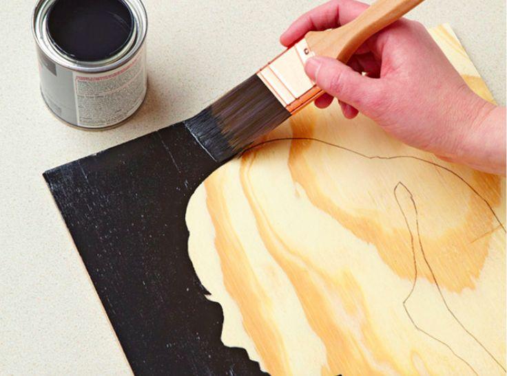 Fabriquez un superbe tableau silhouette !