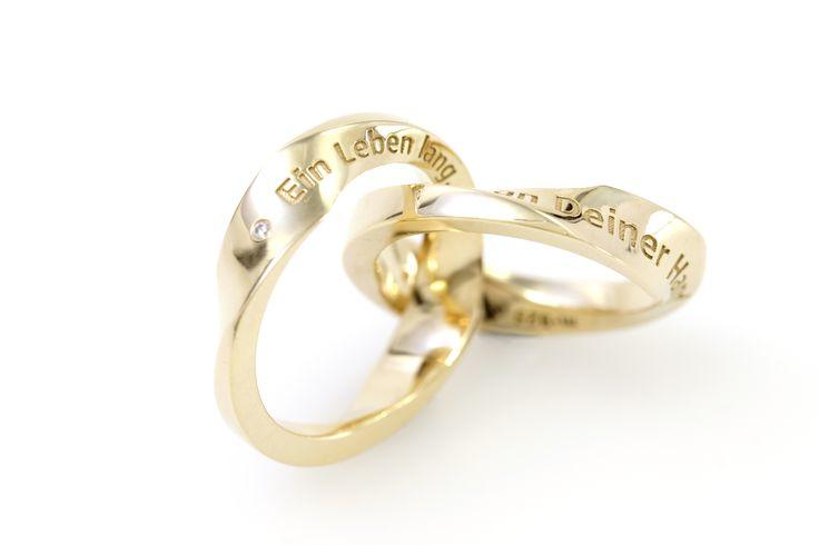 Aion - Ein Schnitt teilt den Ring in zwei Hälften, die trotzdem verbunden bleiben.