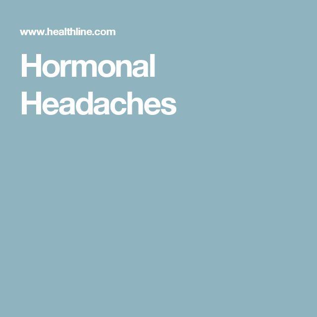 Hormonal Headaches