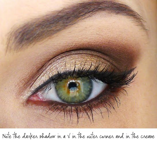 Eyeshadow tricks for mature women.