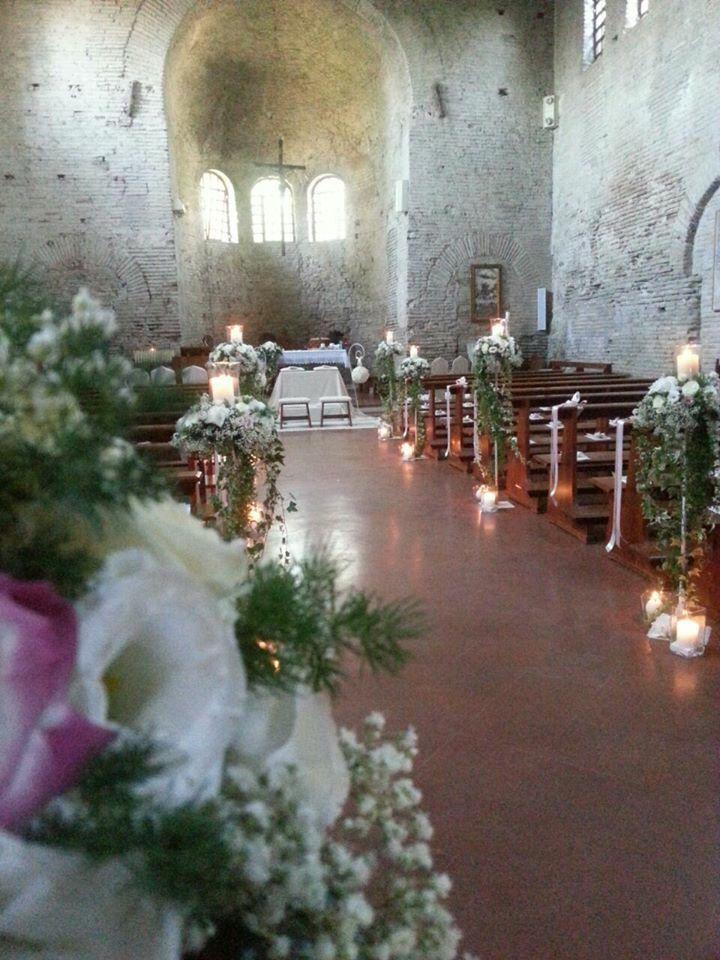 Addobbo Pieve a S.Arcangelo di Romagna. By ️️PROFUMO di fiori