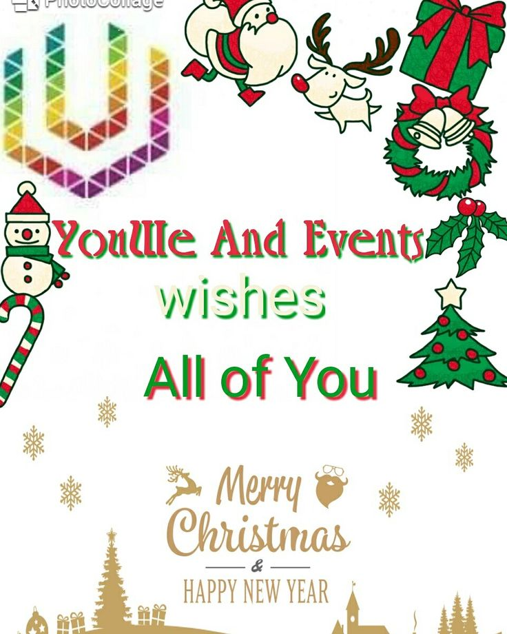 Merry Christmas #merrychristmas #Christmas #youweandevents #happy #holidays