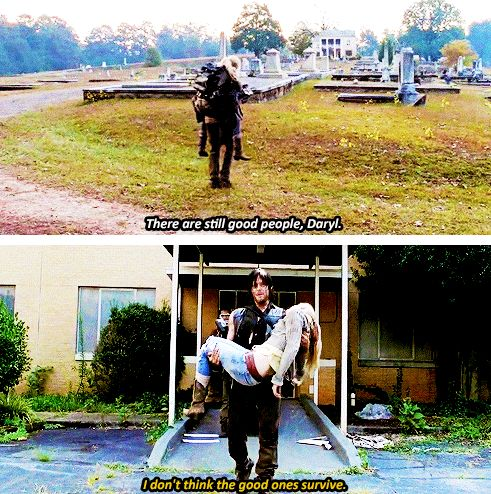 """The Walking Dead season 5. """"I don't think the good ones survive"""""""