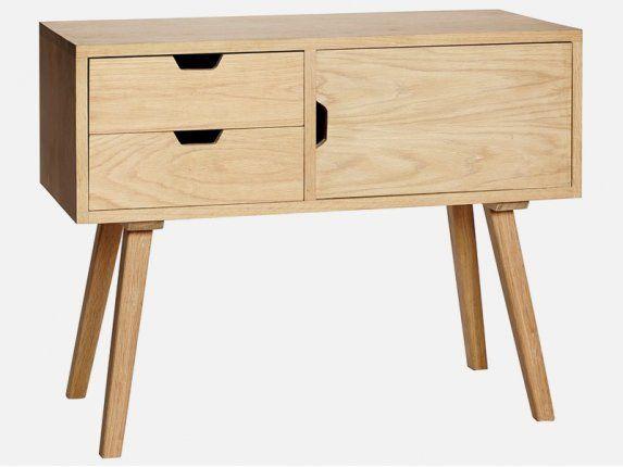 Drewniana Komoda w stylu skandynawskim