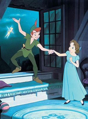 Childhood heroines in need of a Sassy Gay Friend  #3. Wendy Darling, Peter Pan  Listen up, Wendy: Peter is not ready for a mature relationship. What he wants is a mom. On many occasions, he has stated his unwillingness to ever grow up. This will not end well.