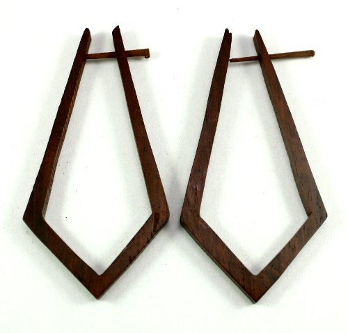 A Pair of Tribal Organic Wooden Earrings Fake Gauges Tattoo Wood Faux Plugs Tapers Krishna Mart India http://www.amazon.com/dp/B009VYCWMU/ref=cm_sw_r_pi_dp_aS.xwb1GR3HDW