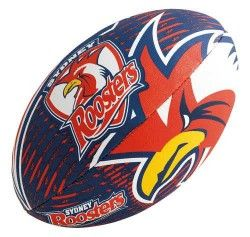 "Steeden Sydney Roosters Mini 11"" Supporter NRL Ball 