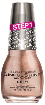 What Colors Are In The King Kylie ShinfulShine Nail Polish Line? There's A Little Of Everything. Sinful Colors.SINFULCOLORS KYLIE JENNER KING KYLIE NAIL POLISH COLLECTION! 15 March 2016   Purchased  Sinful Colors is hands down the best drugstore nail polish brand out there, at least in my personal opinion. I find their nail polishes to last long and most importantly, very often they last longer that some of the more expensive brands. Update: Luv this. A keeper and repeater.