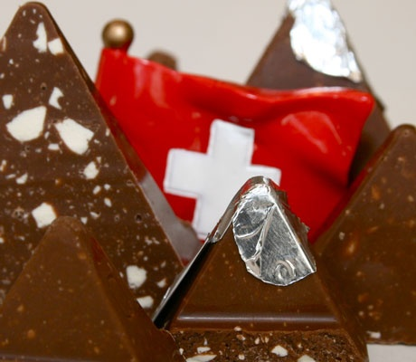 Even the mountains are made of chocolate. | Swiss ...