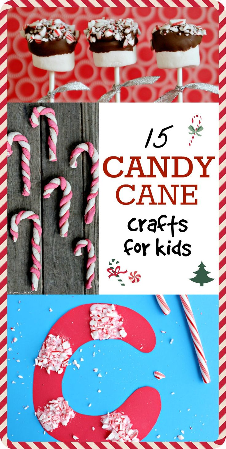 15 Cute Candy Cane Crafts for Kids – Love These Holiday Projects
