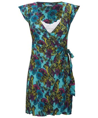 joe browns wonderful wraparound tunic a fantastic tropical print