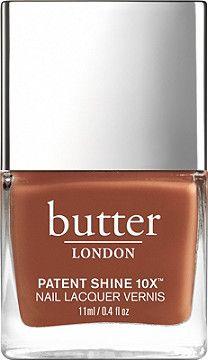Butter London Patent Shine 10X Lacquer Keep Calm (vintage rust crème) (online only)
