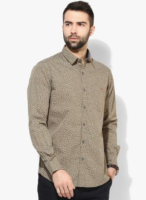 New Collection in Casual Shirts for Men - Buy Latest Design Men Casual Shirts Online | Jabong.com Rs.2199  Buy Now:-http://www.jabong.com/Wills-Lifestyle-Brown-Printed-Slim-Fit-Casual-Shirt-300018271.html?pos=3