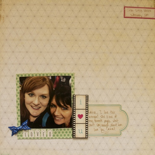 Another layout created by @Ashley Walters Walters Harris using Crate Paper's Maggie Holmes Collection.