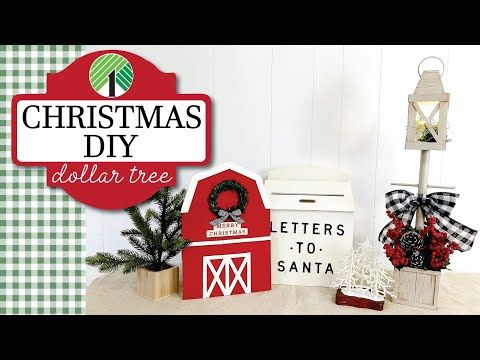 Christmas 2020 Youtube HIGH END Dollar Tree Christmas DIYs 2020 | Christmas in July 2020