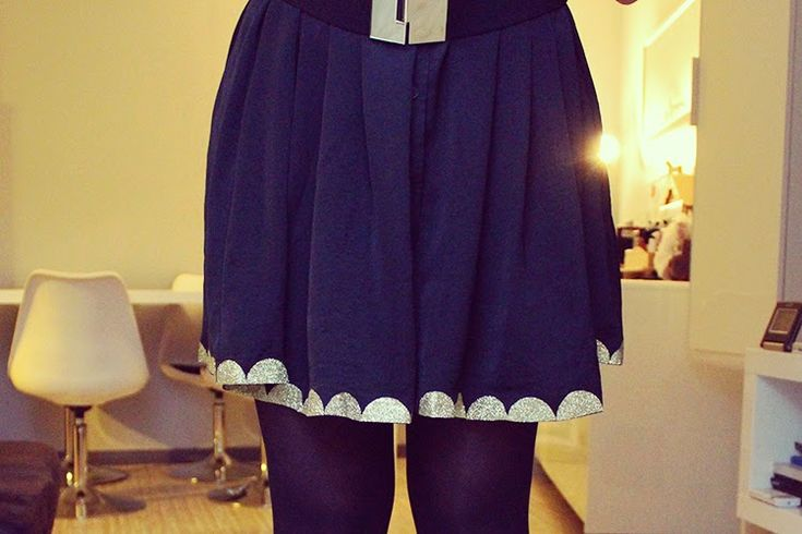 Tiboudnez: ♥ DIY - Une robe de fêtes ♥ tiboudnez, blog, do it yourself, diy, tuto, mode, beauté, blogueuse, lifestyle, glitters