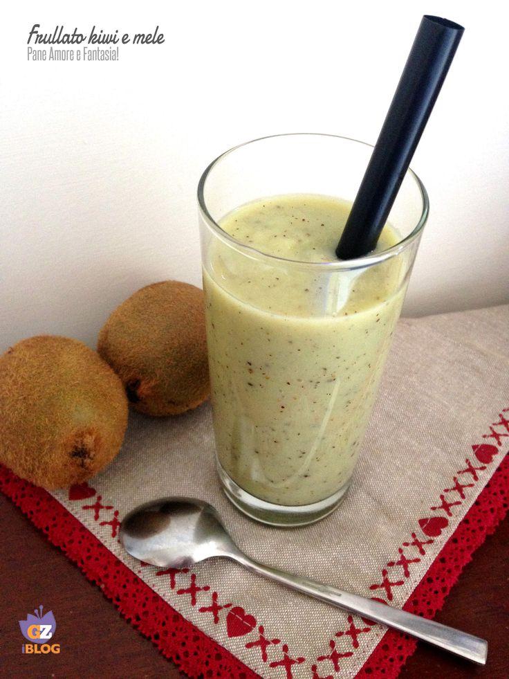 Frullato kiwi e mele - ricetta nutriente