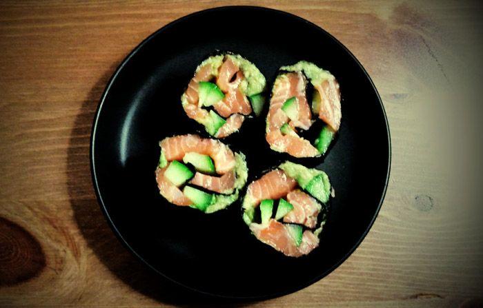 Paleo sushi | Paleo Lifestyle Paleo sushi | Rozcestník a scestník pro paleo jedlíky
