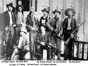 The Dalton Gang. National Day of the Cowboy is coming up this Saturday, July 27, and to celebrate we're asked the acclaimed author of Desperadoes, Ron Hansen, about what it means to be a cowboy. http://www.openroadmedia.com/blog/2013-07-25/The-Evolution-of-the-Cowboy-by-Ron-Hansen.aspx