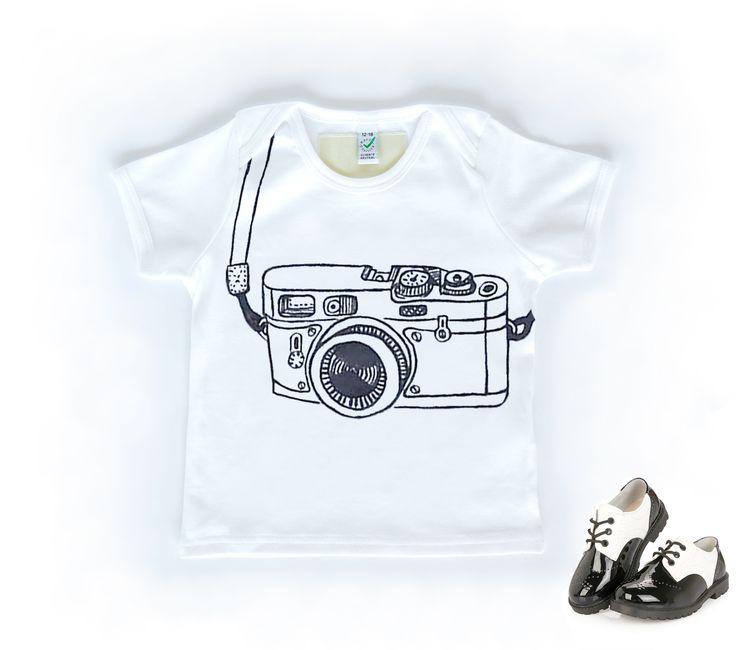 T-shirt für Baby / Kind mit Kamera